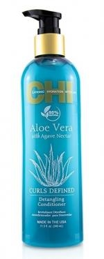 Göndör haj Farouk Chi Aloe Vera Curls Defined Enhancing Conditioner 340 ml