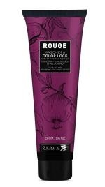 Festett haj Black Professional Rouge Color Lock Mask 250 ml