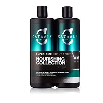 TIGI Catwalk Oatmeal & Honey Shampoo 750 ml & Conditioner 750 ml ajándékszett