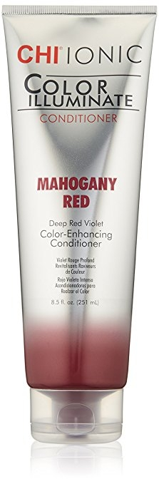 Festett haj Farouk Chi Color Illuminate Conditioner Mahogany Red 251 ml
