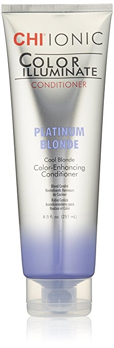 Festett haj Farouk Chi Color Illuminate Conditioner Platinum Blonde 251 ml