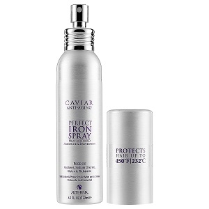 Festett haj Alterna Caviare Style Perfect Iron Spray 122 ml
