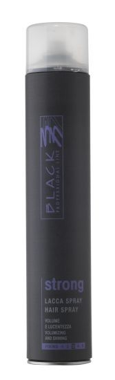 Styling Black Professional Line Strong Lacca Hair Spray 750 ml