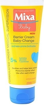 Body kozmetikumok Mixa Baby Barrier Cream popsikrém 100 ml