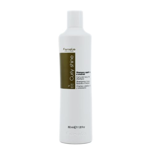 Göndör haj Fanola Curly Shine Curly and Wavy Shampoo 350 ml