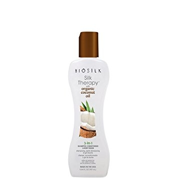 FAROUK SYSTEMS Farouk Biosilk Organic Coconut Oil 3-in-1 Shampoo, Conditioner & Body Wash 167 ml