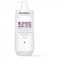 GOLDWELL Goldwell Dualsenses Blondes & Highlights Anti-Yellow Sampon 1L