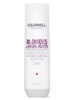 GOLDWELL Goldwell Dualsenses Blondes & Highlights Anti-Yellow Sampon 250 ml