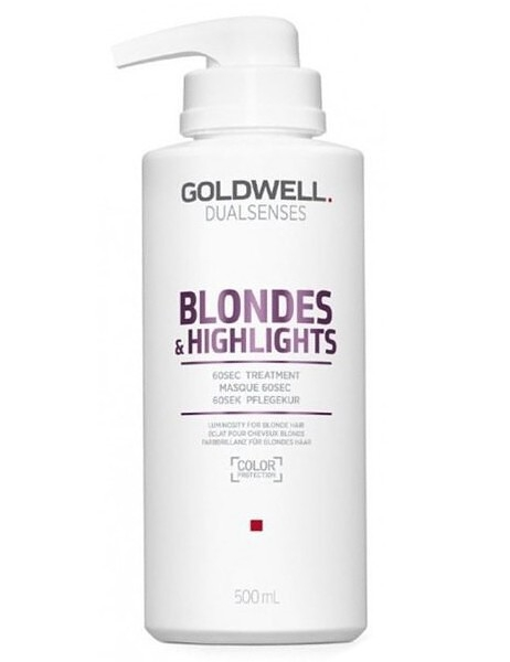 GOLDWELL Goldwell Dualsenses Blondes & Highlights 60sec Treatment 500 ml