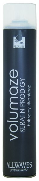 Styling Allwaves Professionnelle Volumaze Keratin Prodigy Hair Spray Ultra Srong 750 ml