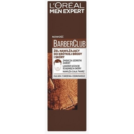 L'Oréal Paris Men Expert Barber Club Short Beard & Face Moisturiser 50 ml