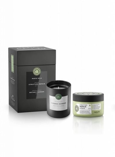 Maria Nila Structure Repair Masque 250 ml + Botanic Garden Candle 210 g