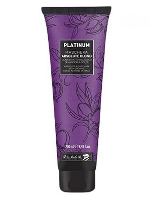 PARISIENNE ITALIA Black Professional Platinum Absolute Blond Mask 250 ml