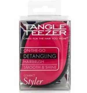 Tangle Teezer Compact Styler rózsaszín-fekete hajkefe  1a36daf9cd