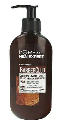 L'Oréal Paris Men Expert Barber Club Beard + Face + Hair Wash 200 ml