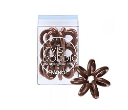 INVISIBOBBLE Invisibobble Nano Pretzel Brown hajgumi barna 3 db