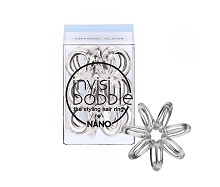INVISIBOBBLE Invisibobble Nano Crystal Clear átlátszó hajgumi 3 db