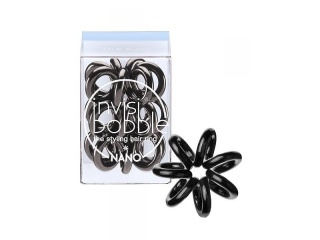 INVISIBOBBLE Invisibobble Nano True Black fekete hajgumik 3 db