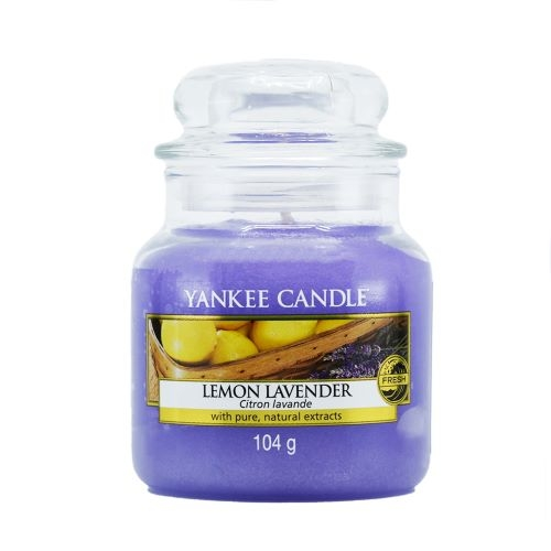 YANKEE CANDLE Yankee Candle Classic Small Jar Candle Lemon Lavender 104 g